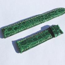 Breitling Croco Grün Green Für Dornschliesse 18mm ( 70/110 )