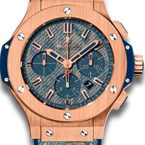 Hublot Big Bang 44 MM Jeans 18K Rose Gold Men's Watch