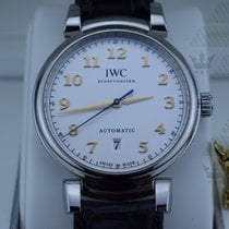 IWC IW356601  Da Vinci Automatic ( White Dial)