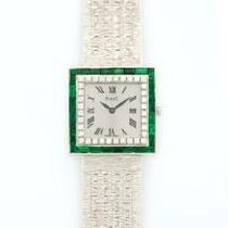 Piaget Classique Square White Gold with Diamonds and Emeralds...