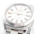 """Rolex Mens """"New Style"""" Milgauss - White Dial - 116400"""