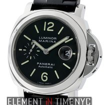 Panerai Luminor Collection Luminor Marina Steel Black Dial...