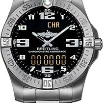 Breitling Aerospace Evo quartz titanium black dial