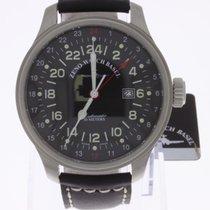 Zeno-Watch Basel Oversized Pilot 24h GMT NEW