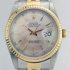 Rolex Datejust 36mm / 2 Tone / Fluted Bezel / Jubilee / 16233