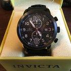 Invicta Specialty Gunmetal Chronograph Black Carbon Fiber Dial