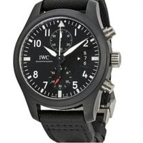 IWC PILOT'S TOP GUN 46 MM BLACK DIAL  IW388007 T da...