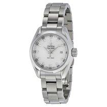 Omega Ladies 23110306055001 Aqua Terra Quartz 30mm Watch