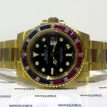 Rolex GMT Master II Oyster Perpetual - Sapphire, Rubie...