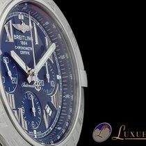 Breitling Chronomat 44 Edelstahl Blaues Zifferblatt | Manufakt...