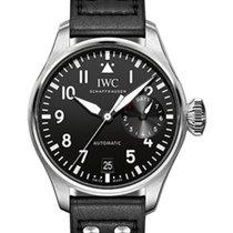 IWC Schaffhausen IW500912 Big Pilot's Watch Black Arabic...