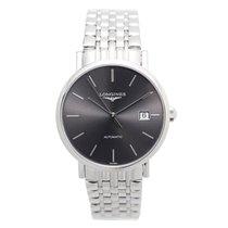 Longines Elegant Stainless Steel Dark Grey Automatic L4.810.4....