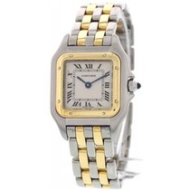 Cartier Ladies Cartier Panthere 18K Yellow Gold and Stainless...