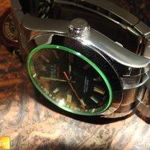 Rolex Milgauss vetro verde mai indossato