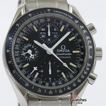 Omega Speedmaster Day Date Mark 40 Triple Calendar Box Papers