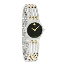Movado Esperanza Series Ladies Small 23mm Two Tone Swiss...