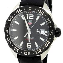TAG Heuer Formula 1 Black Dial Black Leather