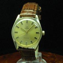 Omega Geneve Gold Mantel / Edelstahl Handaufzug Herrenuhr /...