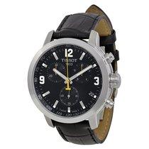 Tissot PRC 200 Chronograph Black Dial Mens Watch T0554171605700