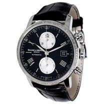 Baume & Mercier Classima Chrono 65591 Diamond Mens Watch...