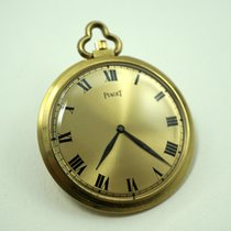 Piaget 18k round pocket watch cal.9p dates 1960's