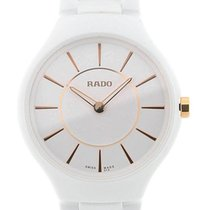 Rado True Thinline 30 White Ceramic Lady