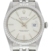 Rolex Men's Rolex DateJust Stainless Steel W/ Papers 16030