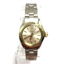 Rolex Oyster Perpetual 18k Yellow Gold & Ss Ladies Watch...