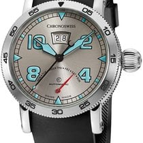 Chronoswiss Timemaster Retrograde Day Automatic Mens Watch DOW...