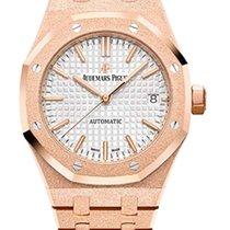 Audemars Piguet Royal Oak Hammered 18K Pink Gold Ladies Watch