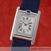 Cartier Lady Tank Basculante Edelstahl Damenuhr Ref. 2386...