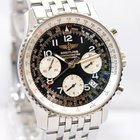 Breitling Navitimer Stahl Uhr Ref. A23322 Papiere Box 2007