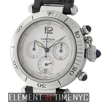 Cartier Pasha Collection Pasha 38mm Chronograph Stainless Steel