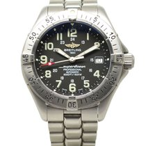 Breitling Superocean Stainless Steel Automatic Watch Black...