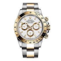 Rolex Cosmograph Daytona Mens Stainless Steel and 18K Yellow...