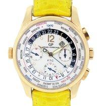 Girard Perregaux 49805 Worldtimer 18k Rose Gold Watch