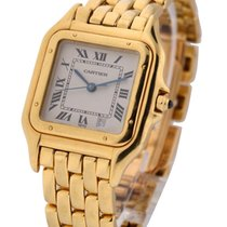 Cartier 27mm Yellow Gold Panther