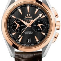 Omega Aqua Terra 150m Co-Axial GMT Chronograph 43mm 231.23.43....