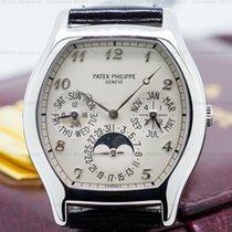 Patek Philippe 5040P Perpetual Calendar Tonneau Platinum...