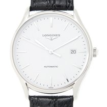 Longines Lyre Stainless Steel White Automatic L4.960.4.12.2