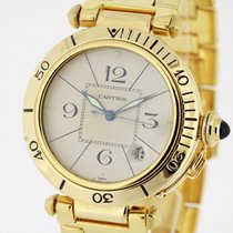 Cartier Pasha Automatic solid 18K Yellow Gold 38mm Ref. 1989...