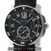 Cartier Calibre de Cartier Diver Steel Black Dial