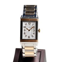 Jaeger-LeCoultre New  Reverso 18k Rose Gold And Steel Silvery...