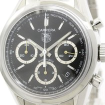 TAG Heuer Polished Tag Heuer Carerra Chronograph Jack Heuer...