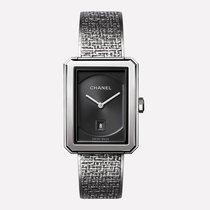 Chanel Boy∙Friend Tweed Medium Version, Steel