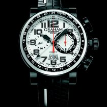 Graham Silverstone Stowe GMT Weiß / White Limited Edition