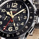 Ingersoll IN3224BK Bison No. 69 GMT Automatik 46mm