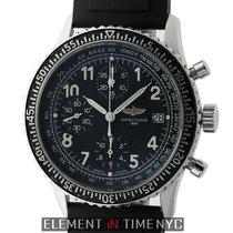 Breitling Navitimer Aviastar Chronograph Stainless Steel Black...