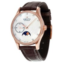 Zenith Heritage Ultra Thin Moonphase Automatic Mother of Pearl...