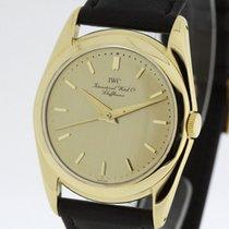 IWC 18 Karat Yellow Gold Vintage Watch Rare Cal 60 full...
